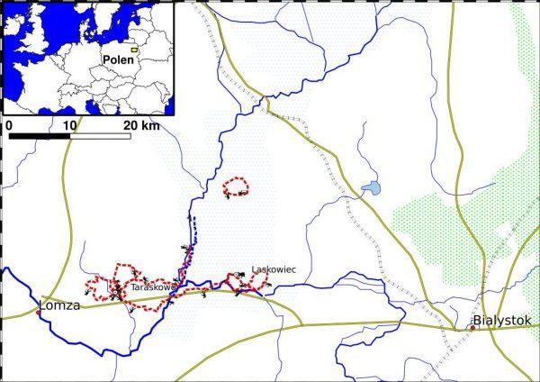 PL_WALK1-websitekaart wandelreis Noordoost Polen