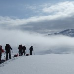 Hardangervidda sneeuwwandelen zwerftocht Agro Natura