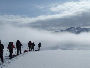 Noorwegen: pittige sneeuwwandeltrektocht Hardangervidda