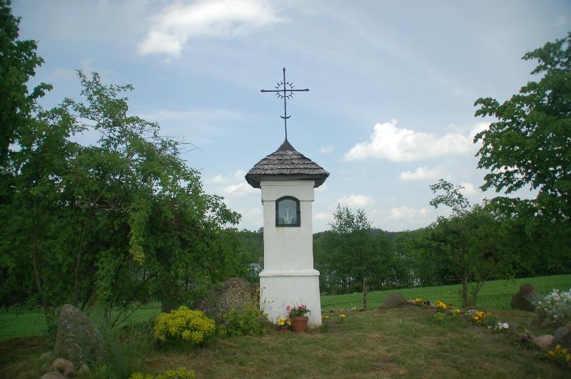 Noordoost Polen Suwalki landschapspark, kapelletje, wandelreis
