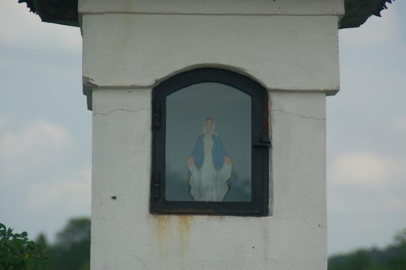 Noordoost Polen kapelletje in het Suwalki Landschapspark