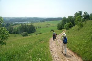 Polen-Litouwen: Wandelen naar Litouwen