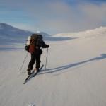 Hardangervidda toerlanglauftocht Noorwegen