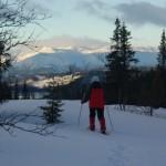 Sneeuwwandelen in Noorwegen Agro Natura