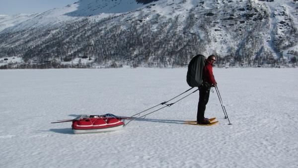 Sneeuwwandelen in Noorwegen. Agro Natura reizen