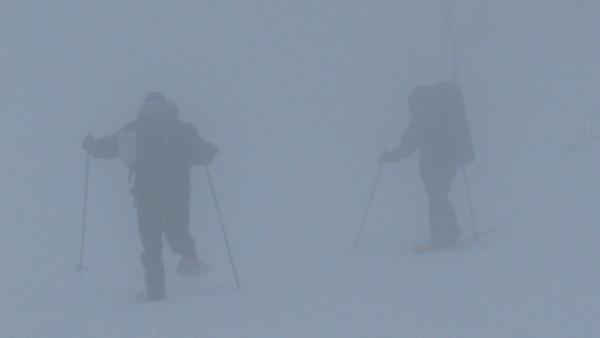 Noorwegen, Hardangervidda, sneeuwwandelreis