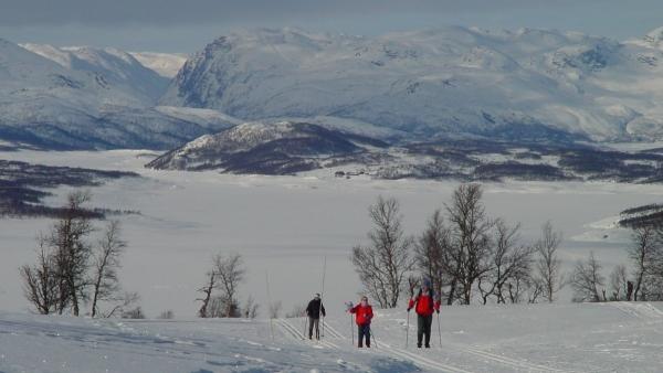 Noorwegen, Rauland, sneeuwwandelreis