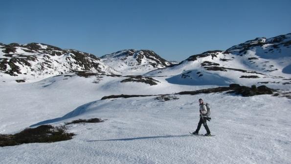Noorwegen, telemark, sneeuwwandelen, Rauland