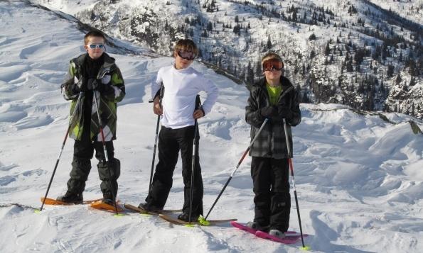 Noorwegen, sneeuwwandelreis familiereis