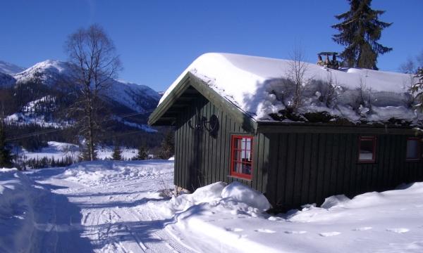 Noorwegen, sneeuwwandelreis vanuit een knusse hut