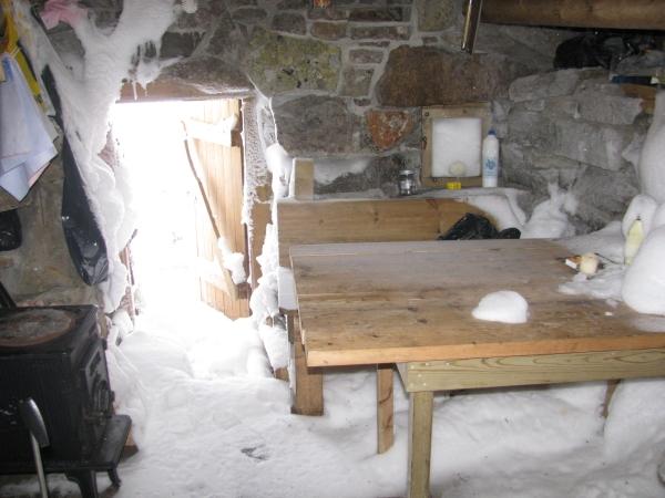 Noorwegen, Hardangervidda, onbekend hutje