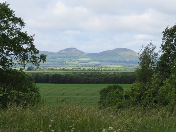Schotland-Engeland, wandelreis Scottish Borders, the Cuthbert's way
