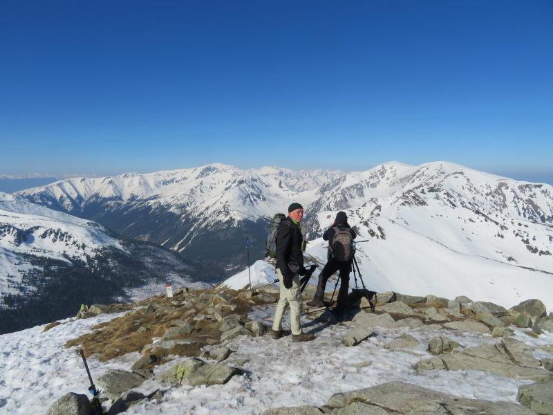 Hoog in de Tatra op zoek naar Waterpieper, Tapuit en Alpenheggemus. We zagen ze alle drie.