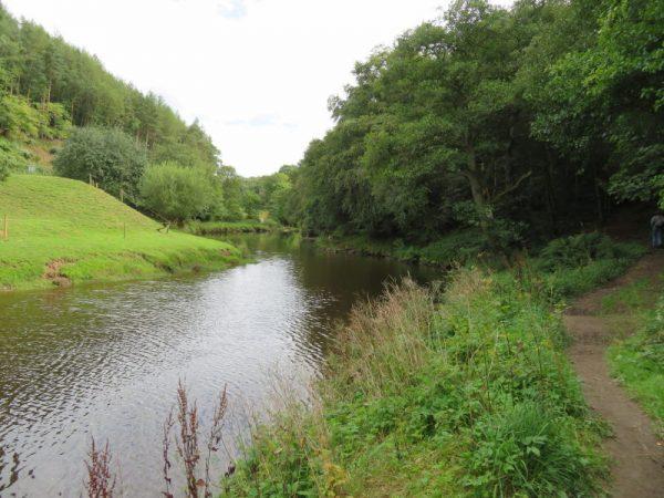 De rivier de Esk