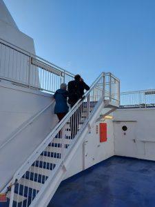 Ook op de boot werd er gevogeld.
