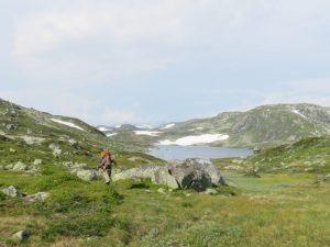 Op de Hardangervidda zonder paden
