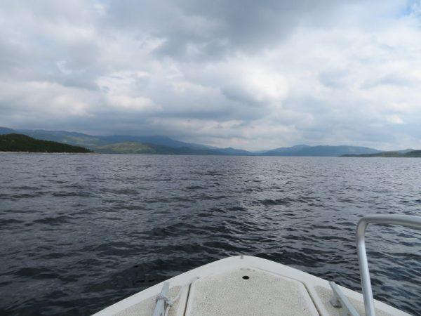 Op het Songa meer